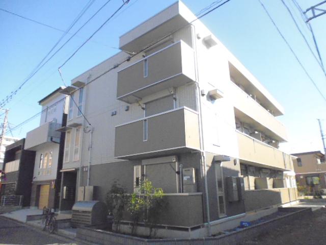 神奈川県藤沢市、藤沢駅徒歩6分の新築 3階建の賃貸アパート