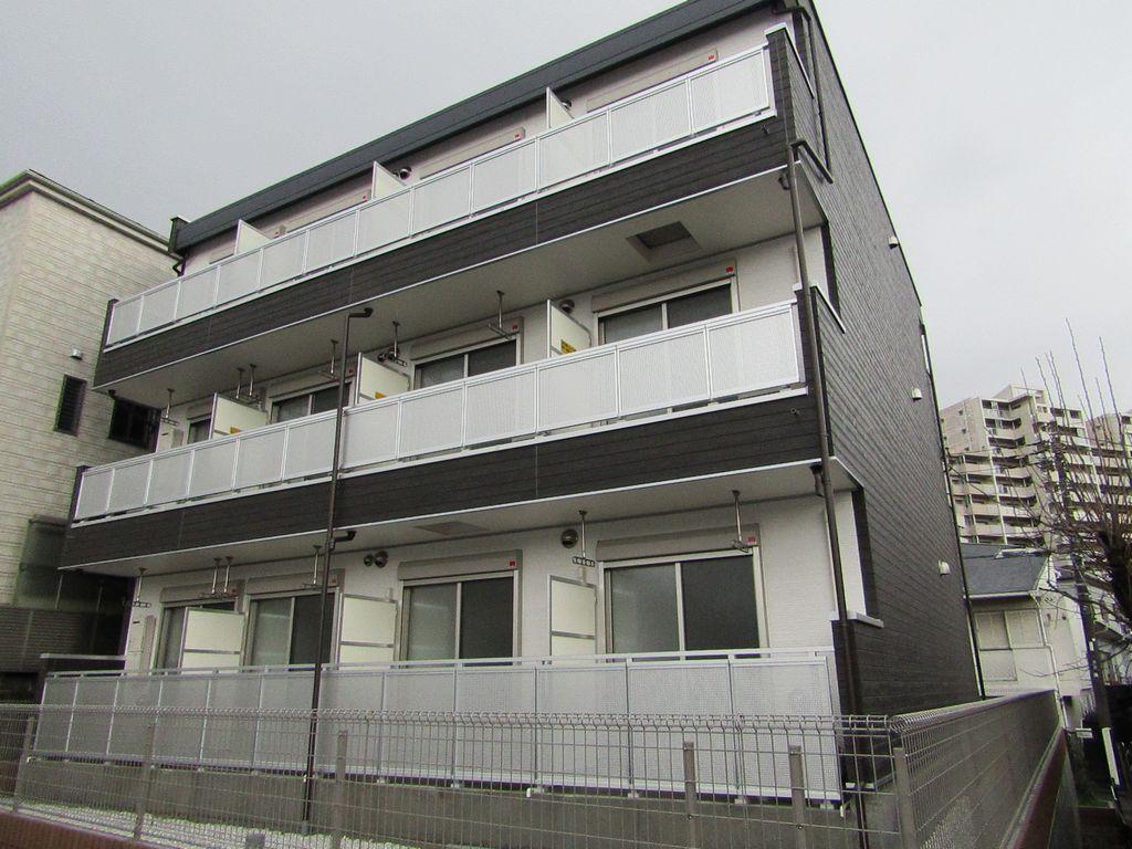 神奈川県藤沢市、藤沢駅徒歩12分の新築 3階建の賃貸マンション