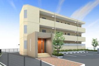 神奈川県茅ヶ崎市、茅ケ崎駅徒歩15分の築4年 3階建の賃貸マンション