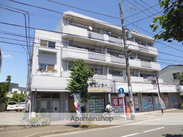 神奈川県藤沢市、藤沢駅徒歩13分の築39年 4階建の賃貸マンション