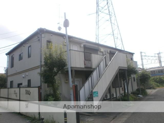 神奈川県川崎市麻生区、鶴川駅徒歩8分の築22年 2階建の賃貸アパート