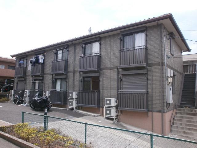 東京都町田市、鶴川駅徒歩33分の築10年 2階建の賃貸アパート