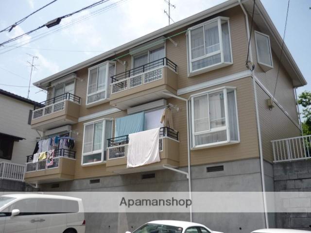神奈川県川崎市麻生区、新百合ヶ丘駅徒歩16分の築23年 2階建の賃貸アパート