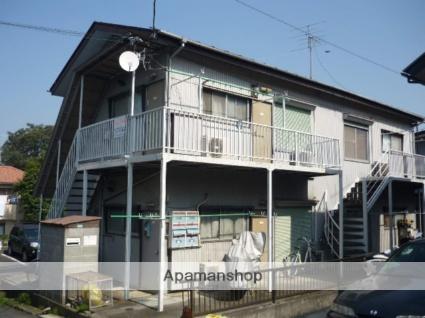 東京都稲城市、新百合ヶ丘駅徒歩20分の築41年 2階建の賃貸アパート