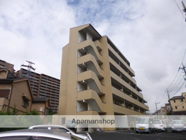 神奈川県川崎市麻生区、百合ヶ丘駅徒歩10分の築24年 6階建の賃貸マンション