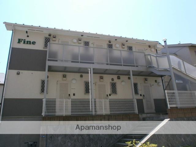 神奈川県川崎市麻生区、百合ヶ丘駅徒歩11分の築9年 2階建の賃貸アパート