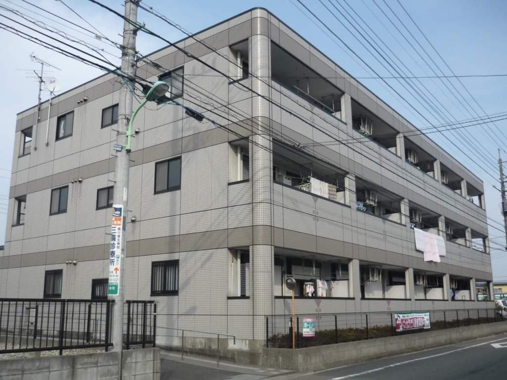 東京都町田市、柿生駅徒歩18分の築16年 3階建の賃貸マンション
