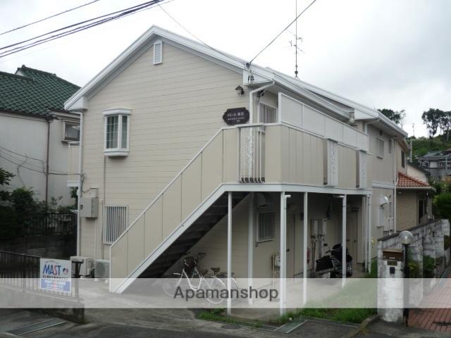 神奈川県川崎市麻生区、読売ランド前駅徒歩17分の築27年 2階建の賃貸アパート