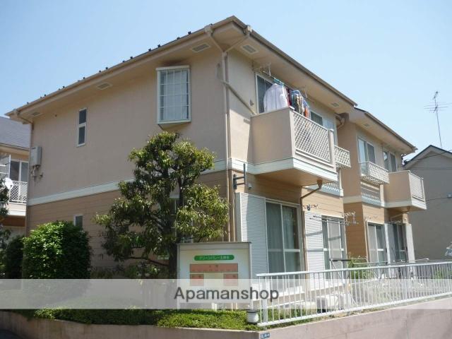 神奈川県川崎市麻生区、柿生駅徒歩15分の築25年 2階建の賃貸アパート