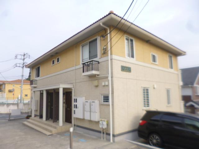 神奈川県川崎市麻生区、若葉台駅徒歩16分の築8年 2階建の賃貸アパート