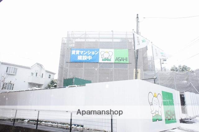 神奈川県川崎市麻生区、京王よみうりランド駅徒歩20分の新築 3階建の賃貸マンション