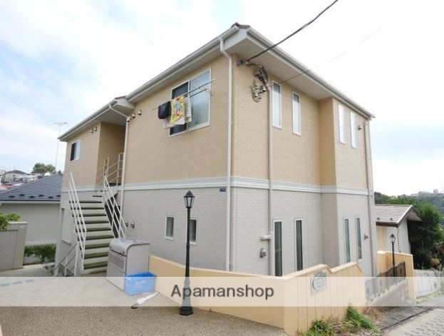 神奈川県川崎市麻生区、新百合ヶ丘駅徒歩15分の新築 2階建の賃貸アパート