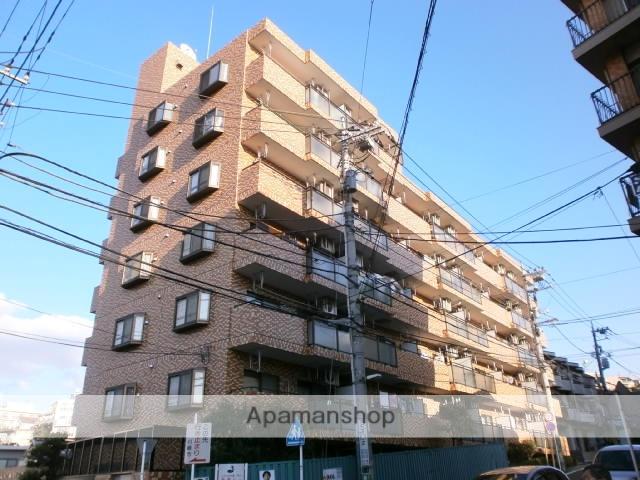 神奈川県川崎市麻生区、読売ランド前駅徒歩13分の築28年 7階建の賃貸マンション