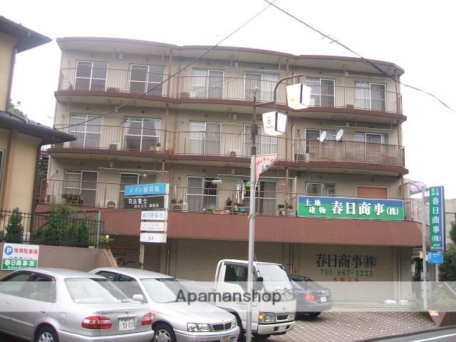 神奈川県川崎市麻生区、新百合ヶ丘駅徒歩23分の築35年 4階建の賃貸マンション