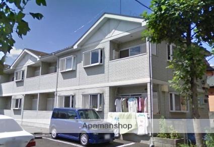 神奈川県川崎市麻生区、読売ランド前駅徒歩14分の築22年 2階建の賃貸アパート