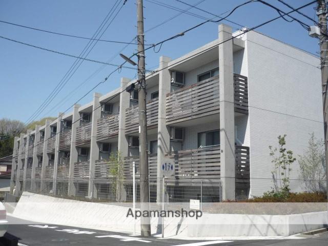 神奈川県川崎市麻生区、百合ヶ丘駅徒歩15分の築9年 3階建の賃貸マンション