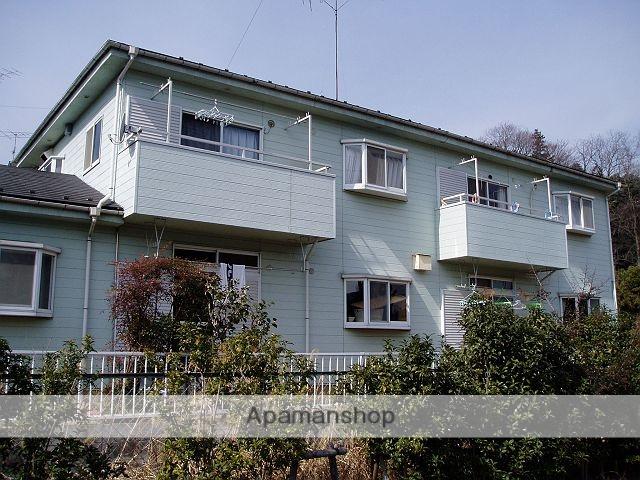 東京都町田市、鶴川駅徒歩24分の築25年 2階建の賃貸アパート