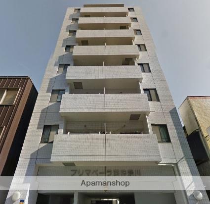 神奈川県横浜市神奈川区、横浜駅徒歩25分の築22年 8階建の賃貸マンション