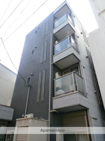 神奈川県横浜市中区、桜木町駅徒歩3分の築9年 4階建の賃貸アパート