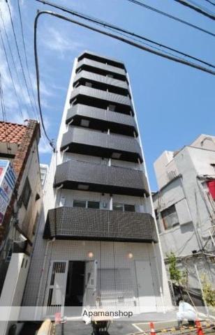 神奈川県横浜市中区、桜木町駅徒歩7分の築1年 8階建の賃貸マンション