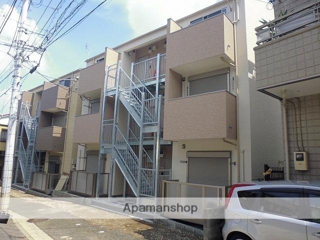 神奈川県横浜市西区、黄金町駅徒歩15分の築1年 3階建の賃貸アパート