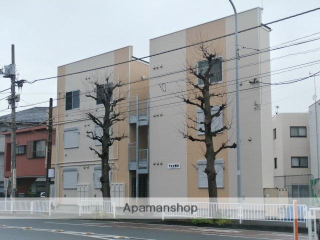 神奈川県横浜市西区、横浜駅徒歩27分の築1年 3階建の賃貸アパート