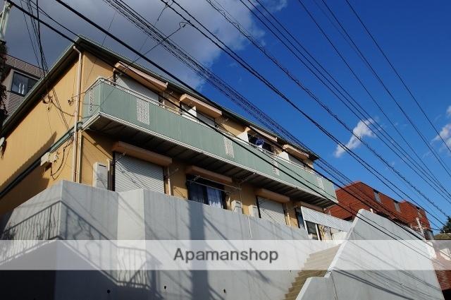 神奈川県横浜市西区、横浜駅徒歩17分の築24年 2階建の賃貸アパート