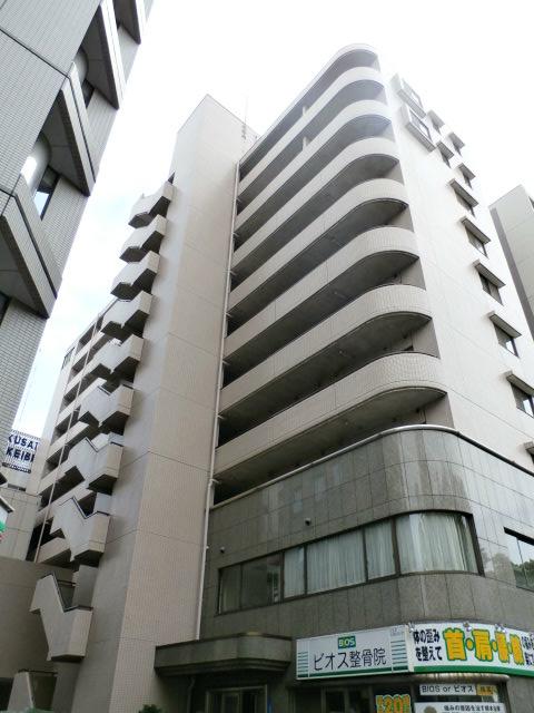神奈川県横浜市中区、関内駅徒歩8分の築27年 10階建の賃貸マンション