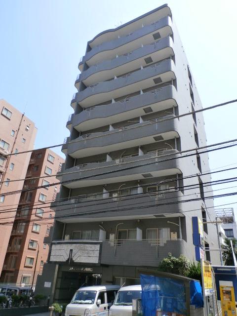 神奈川県横浜市神奈川区、横浜駅徒歩6分の築24年 9階建の賃貸マンション