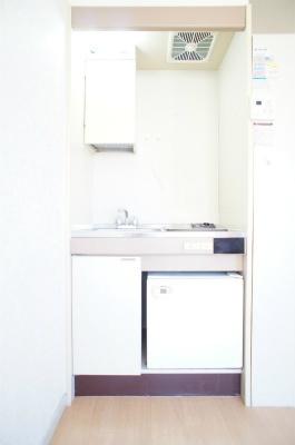 ヴィラ西横浜A棟[1R/14.4m2]のキッチン