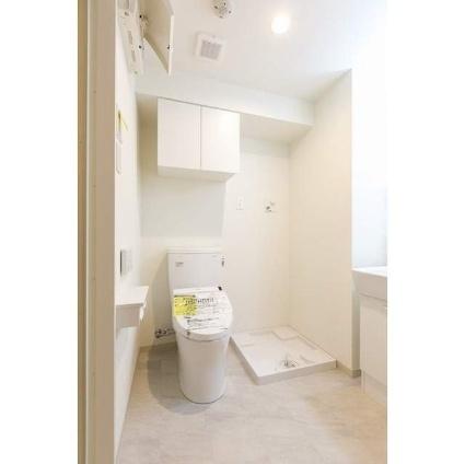 横浜ベイクリウス[1K/25.08m2]のトイレ