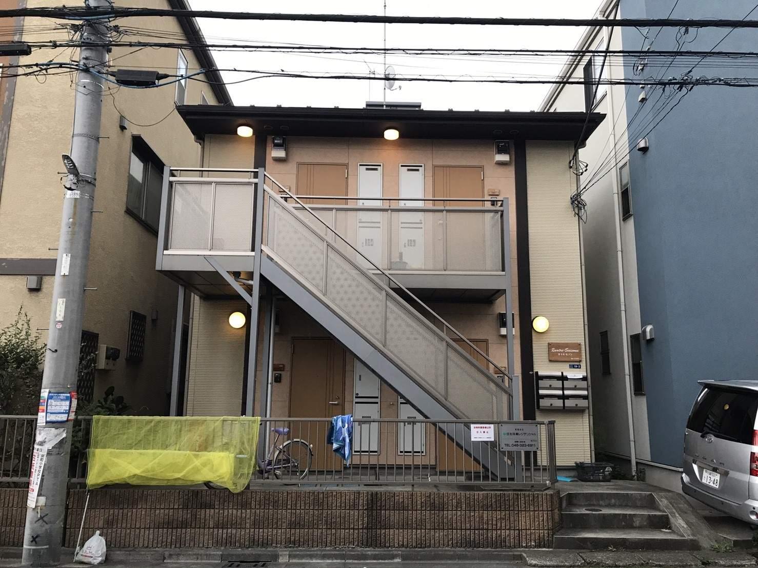 神奈川県川崎市川崎区、川崎駅バス10分京町下車後徒歩3分の築9年 2階建の賃貸アパート