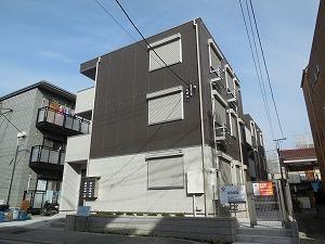 神奈川県川崎市川崎区、港町駅徒歩20分の築4年 3階建の賃貸アパート