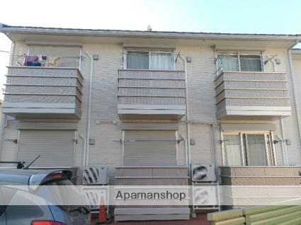 神奈川県川崎市幸区、鹿島田駅徒歩18分の築10年 2階建の賃貸アパート