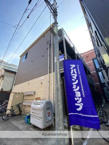 神奈川県川崎市幸区、川崎駅徒歩9分の築2年 3階建の賃貸アパート