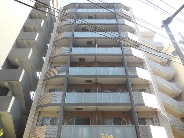 神奈川県川崎市幸区、尻手駅徒歩9分の築7年 8階建の賃貸マンション