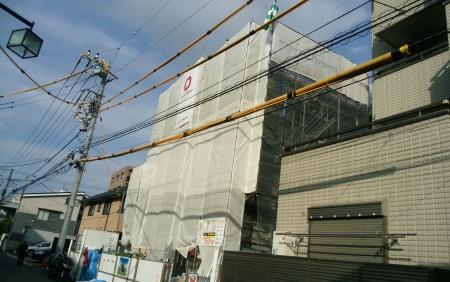神奈川県川崎市中原区、鹿島田駅徒歩18分の新築 3階建の賃貸アパート