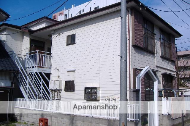 神奈川県川崎市幸区、川崎駅徒歩10分の築28年 2階建の賃貸アパート
