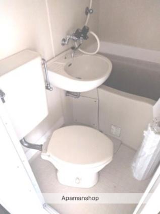 神奈川県横浜市鶴見区上の宮2丁目[1K/13.76m2]のトイレ