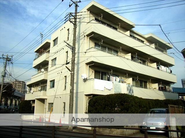 神奈川県川崎市中原区、向河原駅徒歩14分の築29年 4階建の賃貸マンション