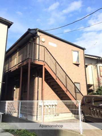 神奈川県川崎市中原区、鹿島田駅徒歩18分の築18年 2階建の賃貸マンション