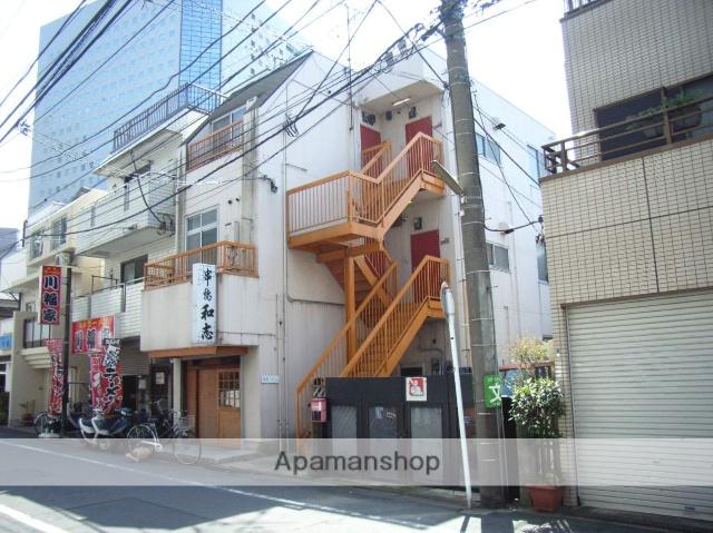 神奈川県川崎市幸区、川崎駅徒歩8分の築30年 3階建の賃貸マンション
