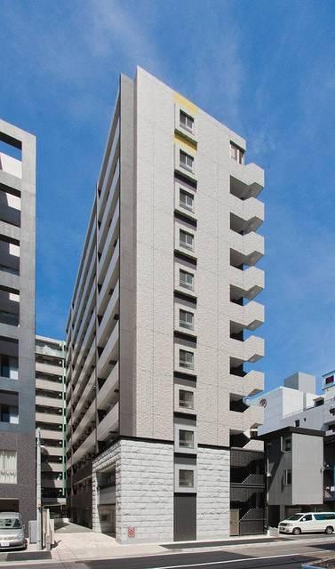 神奈川県横浜市港北区、新横浜駅徒歩9分の築6年 11階建の賃貸マンション
