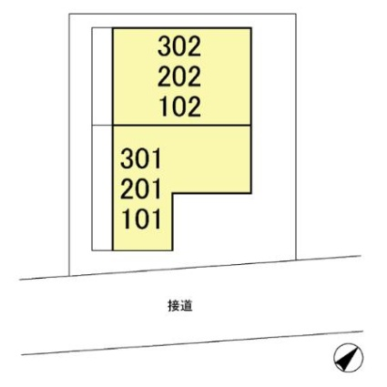 神奈川県横浜市鶴見区生麦5丁目[1R/28.28m2]の配置図
