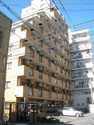 神奈川県川崎市川崎区、川崎駅徒歩10分の築24年 10階建の賃貸マンション