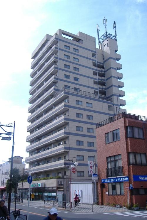 神奈川県川崎市幸区、尻手駅徒歩10分の築22年 14階建の賃貸マンション