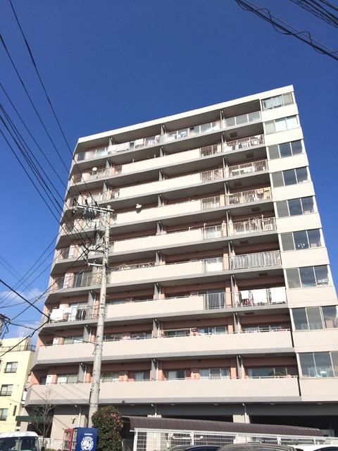 神奈川県横浜市鶴見区、鶴見駅徒歩12分の築15年 10階建の賃貸マンション
