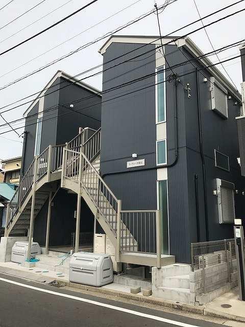 神奈川県横浜市鶴見区、八丁畷駅徒歩13分の新築 2階建の賃貸アパート
