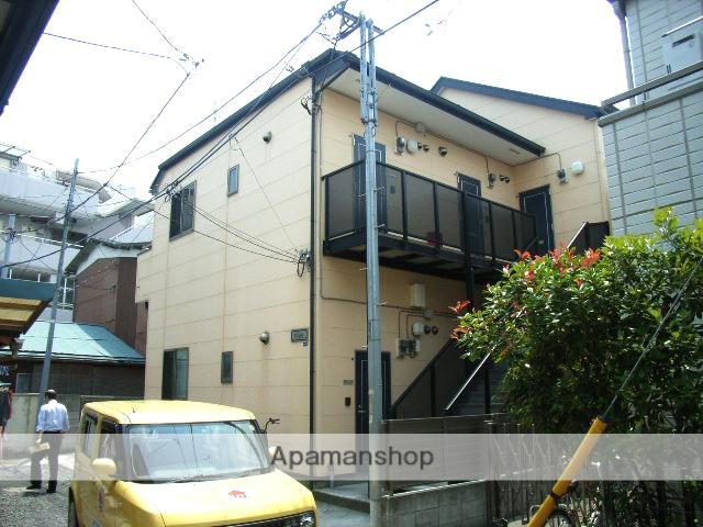 神奈川県横浜市鶴見区、尻手駅徒歩18分の築12年 2階建の賃貸アパート