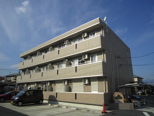 神奈川県小田原市、富水駅徒歩6分の築8年 3階建の賃貸アパート